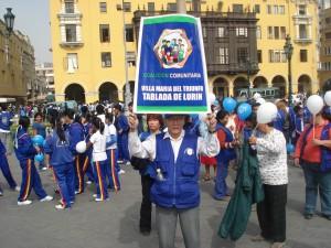 Más de 500 coalicionarios llegaron hasta la Plaza Mayor