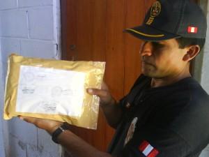 Efectivos policiales enviaron a Lima las pruebas realizadas al insumo químico incautado