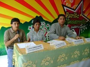 """Conferencia de prensa de """"Purito Desarrollo: Todos a Ganar"""""""