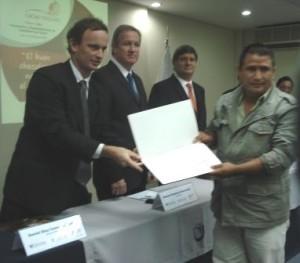 Catador Guido Rojas Fernandez volcará sus conocimientos con los productores de ACOPAGRO en San Martín