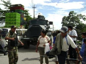 Agentes especiales de la DECOTE del Frente Policial Huallaga están a cargo de las investigaciones