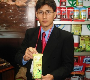 Stand de la Cooperativa Naranjillo en Feria Expoalimentaria