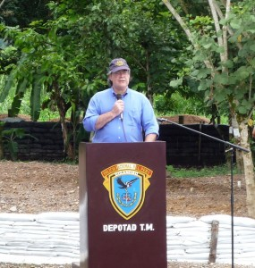 Tony Arias, director de la oficina antinarcóticos de los Estados Unidos, NAS, felicitó el trabajo en equipo y el logro de los objetivos trazados